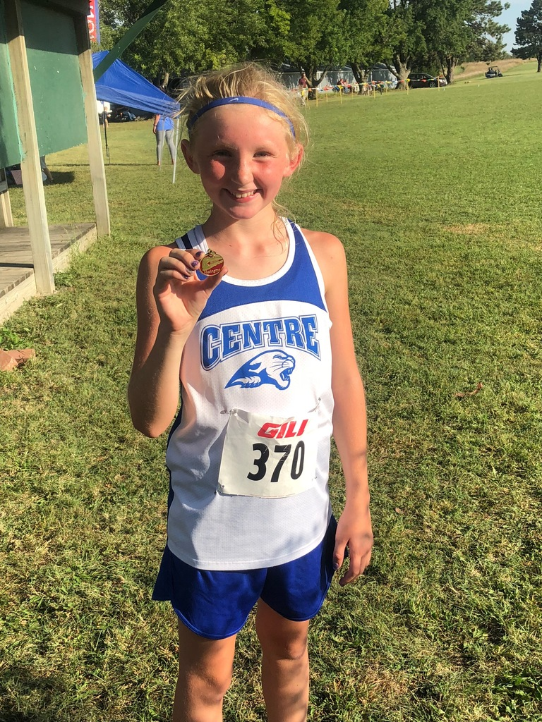 Clara with her 2nd place medal!!!