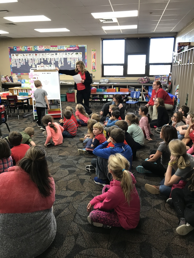 First Cougar Connection Lesson lead by Mrs. Methvin!