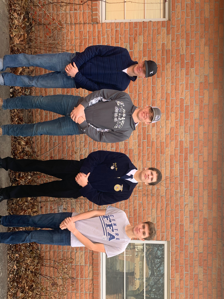 The 2nd Place Senior Ag Sales team with Jensen Riffel placing 8th individually and Dillon Knepp placing 10th individually!