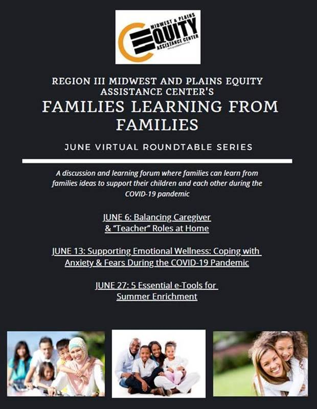 Families Learning from Families Virtual Roundtable Series